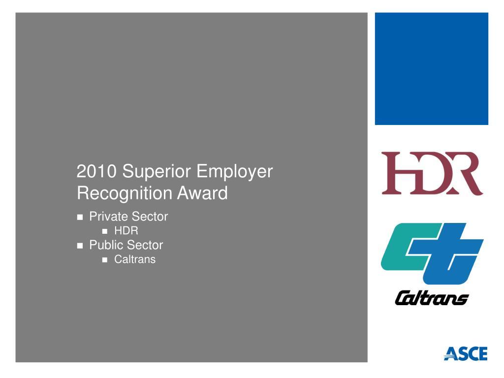 2010 Superior Employer