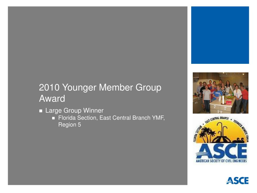 2010 Younger Member Group Award