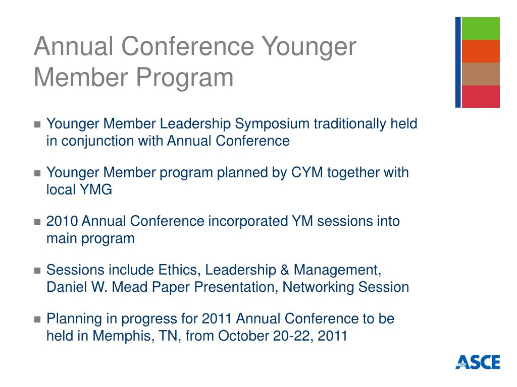 Annual Conference Younger Member Program
