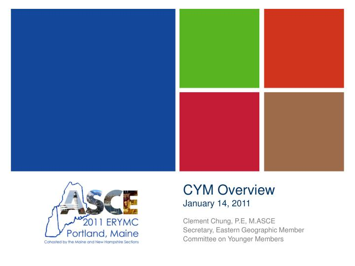 Cym overview january 14 2011
