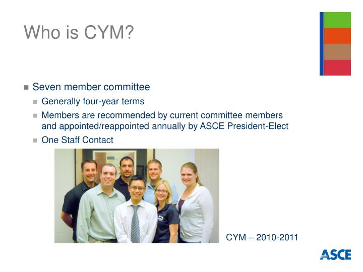 Who is cym