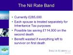 the nil rate band