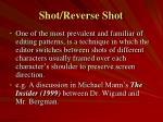 shot reverse shot