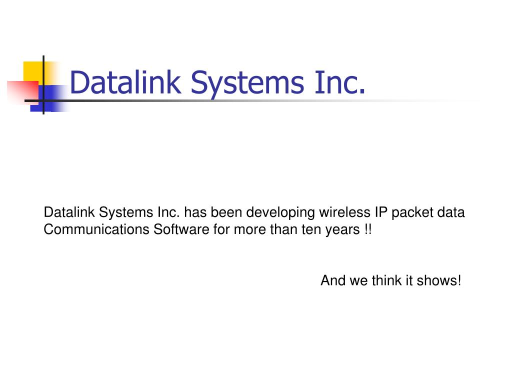 datalink systems inc l.