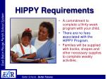 hippy requirements