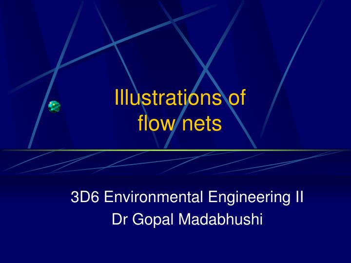 illustrations of flow nets n.
