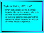 taylor walton 1997 p 67