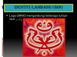 identiti lambang umno