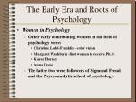 the early era and roots of psychology22