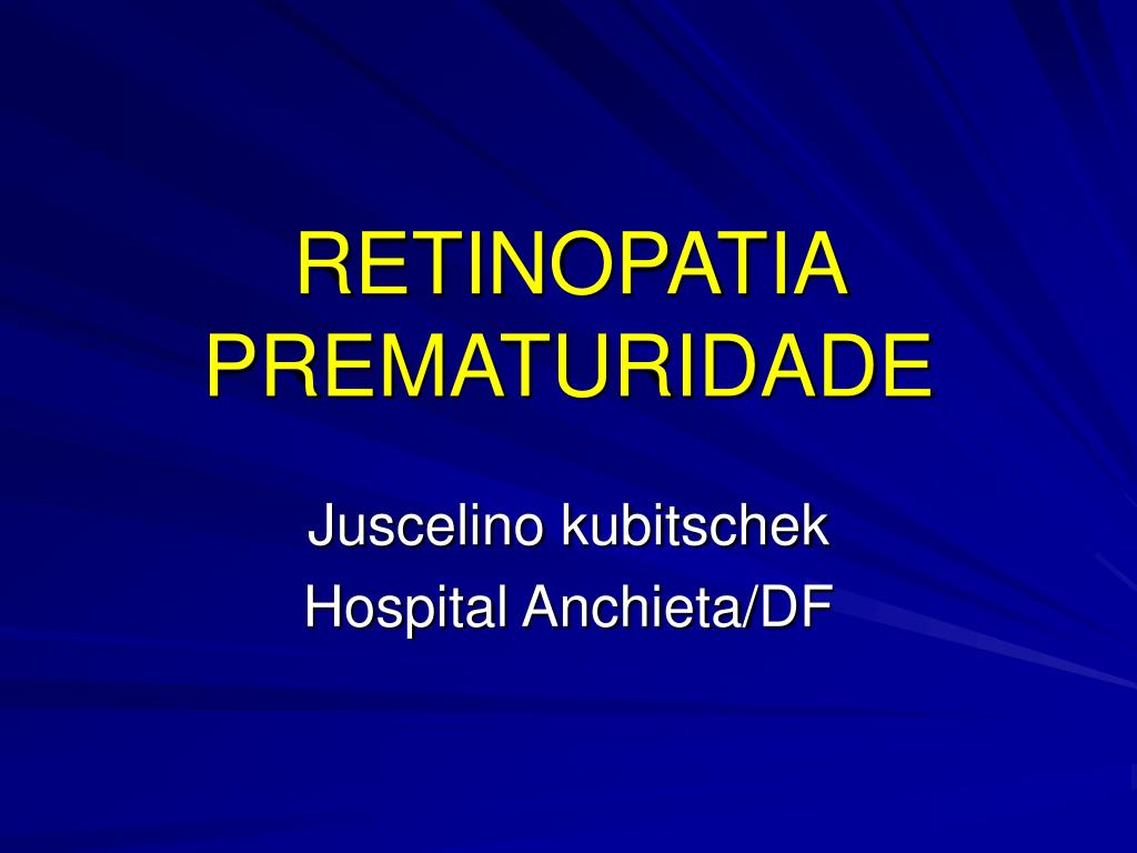 retinopatia prematuridade l.