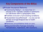 key components of the bill s6