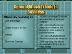 general attack trends in business