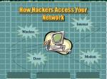 how hackers access your network