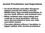 jewish prostitution and imperialism