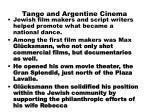 tango and argentine cinema