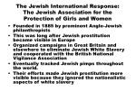 the jewish international response the jewish association for the protection of girls and women