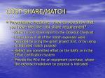 cost share match21