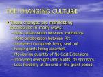 the changing culture4