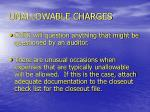 unallowable charges28