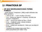 2 1 praktick sp
