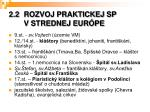 2 2 rozvoj praktickej sp v strednej eur pe