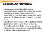9 4 soci lna prevencia