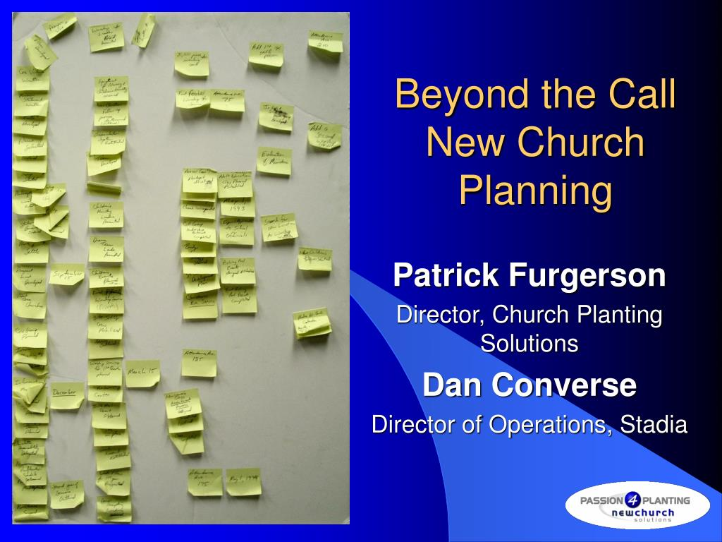 beyond the call new church planning l.