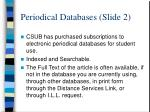 periodical databases slide 2