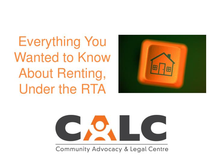 everything you wanted to know about renting under the rta n.