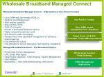 wholesale broadband managed connect12