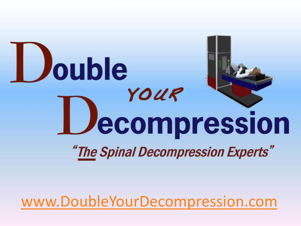www doubleyourdecompression com l.