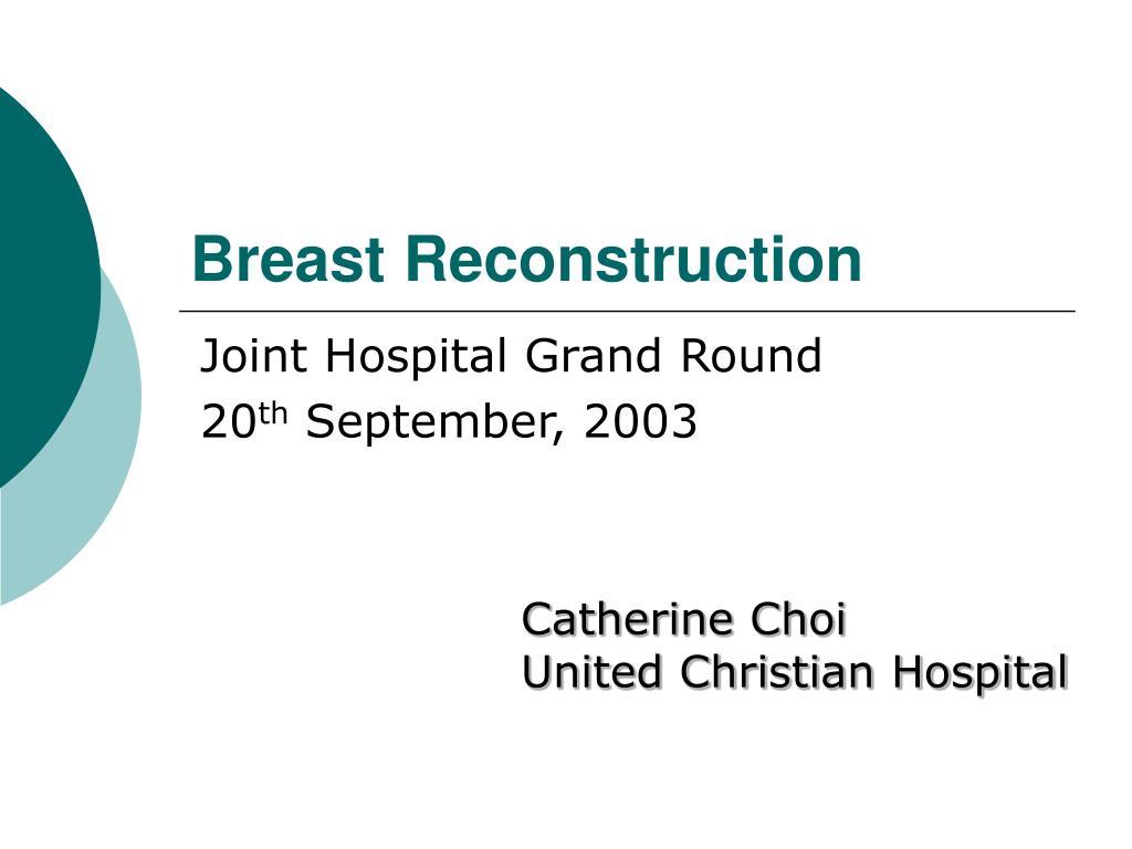 breast reconstruction l.