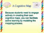 a cognitive map