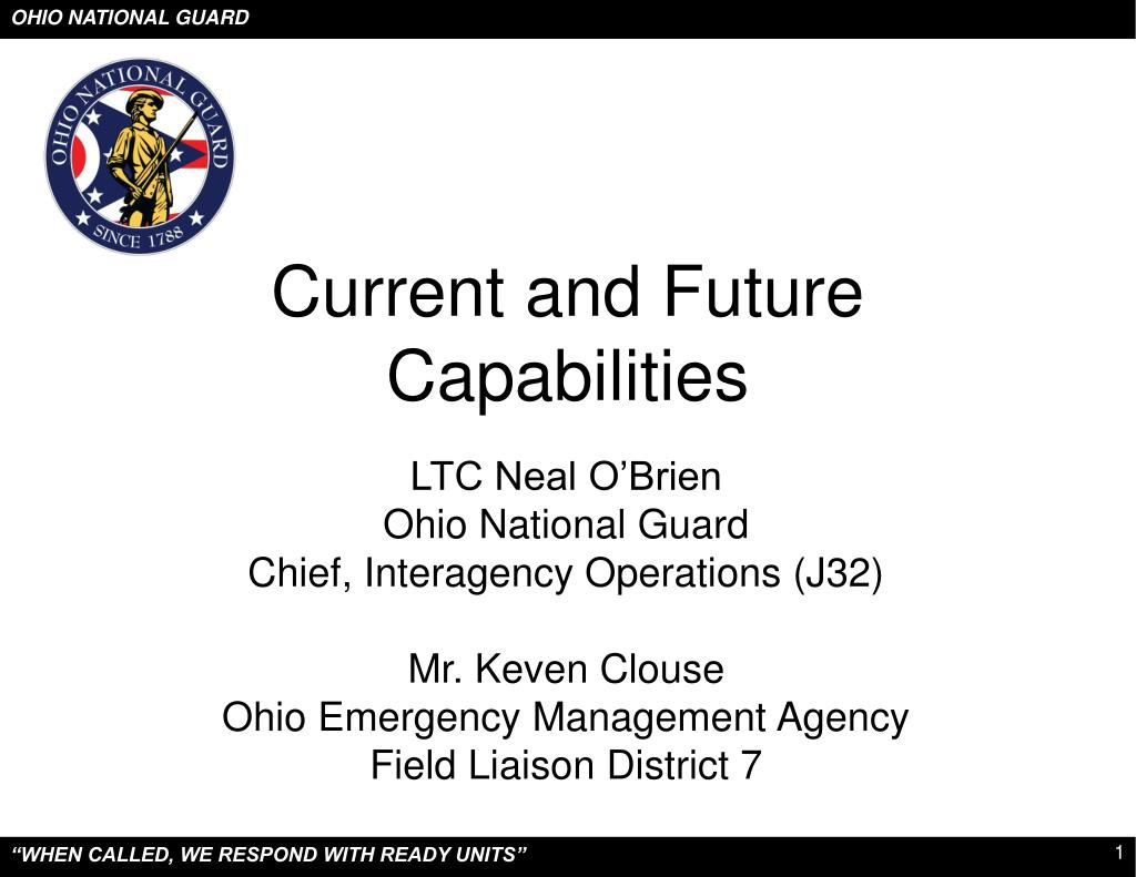 current and future capabilities l.