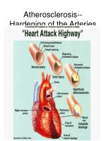 atherosclerosis hardening of the arteries