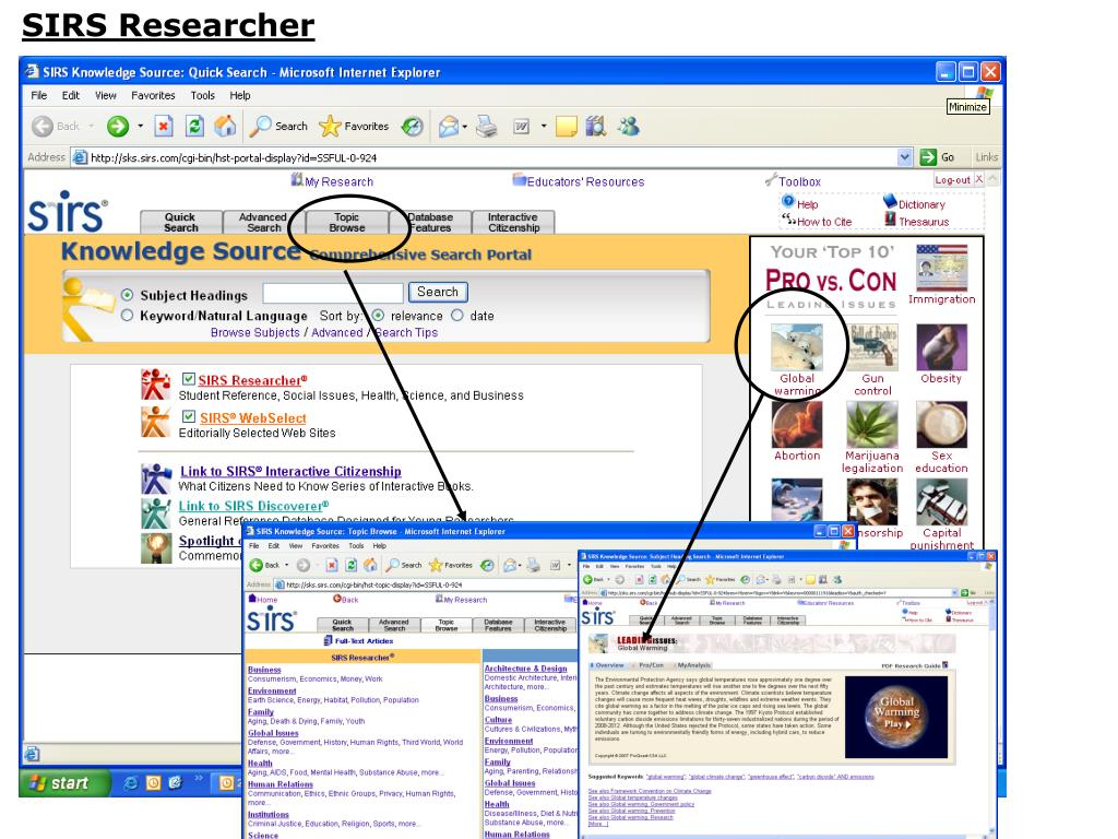 SIRS Researcher