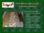 small hatchery management lessons learned1