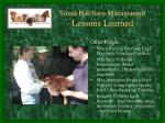 small hatchery management lessons learned4