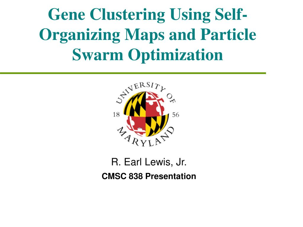 gene clustering using self organizing maps and particle swarm optimization l.
