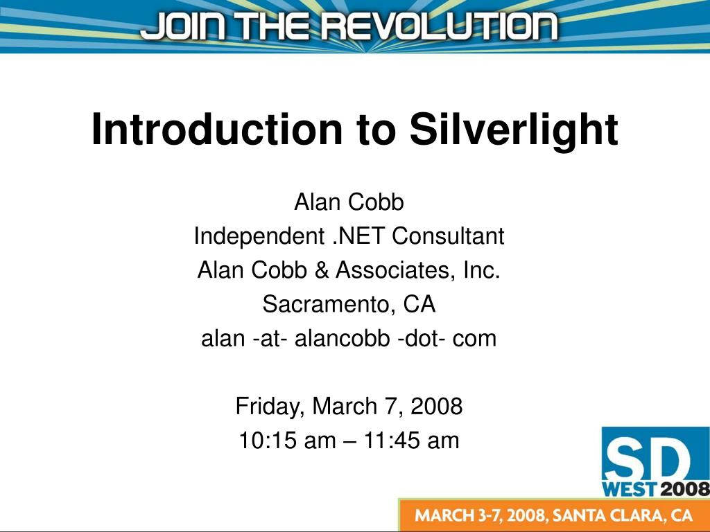 introduction to silverlight l.