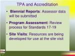tpa and accreditation16