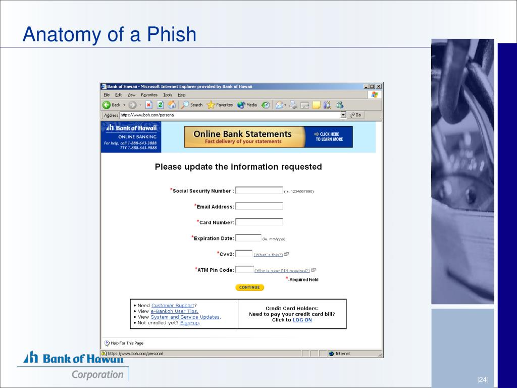 Anatomy of a Phish