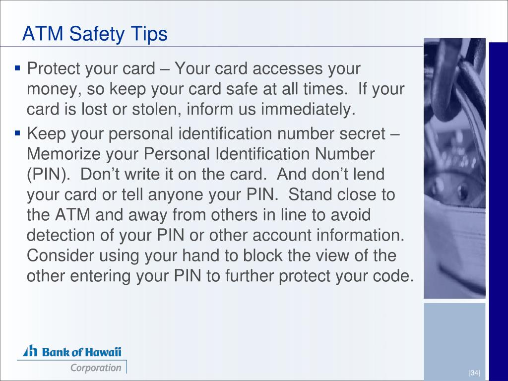 ATM Safety Tips