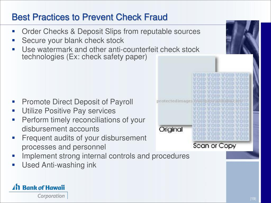 Best Practices to Prevent Check Fraud