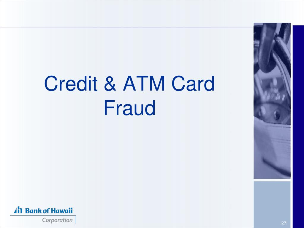 Credit & ATM Card