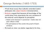 george berkeley 1685 1753
