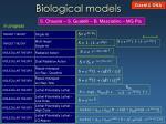 biological models