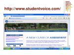 http www studentvoice com
