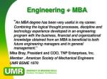 engineering mba