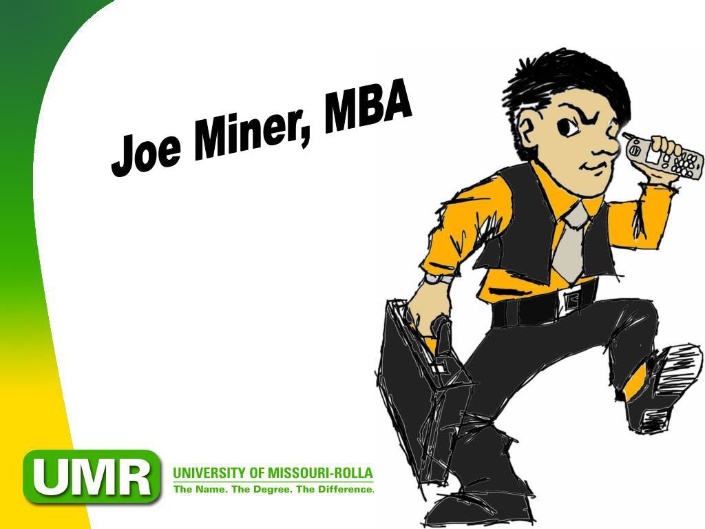 Joe Miner, MBA